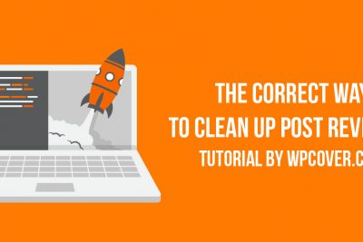 How to Delete WordPress Post Revisions the Correct Way - WP